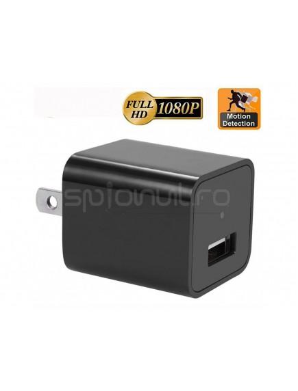 Incarcator USB spion full HD cu Senzor de Miscare
